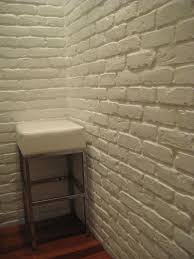 white brick wall tap room pinterest white brick walls