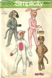 Simplicity Halloween Costumes Classy Patterns Simplicity 9050 70s Child Boy Rabbit Dog