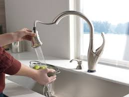 touch faucet kitchen decorating 9192t sssd dst delta kitchen faucets reviews delta