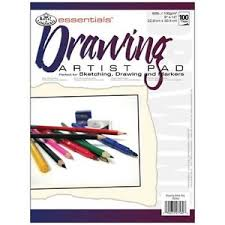 new pack of 100 sheet drawing sketching markers essentials artist