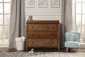 Davinci Kalani Combo Dresser Chestnut by Amazon Com Davinci Highland 3 Drawer Changer Dresser Chestnut