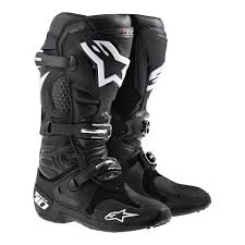 fox boots motocross new alpinestars tech 10 black motocross boots free ebay