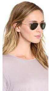 ray ban shrunken aviator sunglasses shopbop