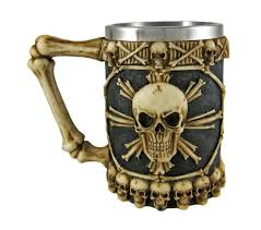 mugs cups glasses awesome skulls