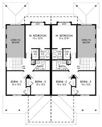 Duplex Home Floor Plans by Luxury Home Designs Residential Designer