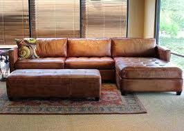Leather Sectional Sofa Bed Brown Leather Sectional Sofas U2013 Ipwhois Us