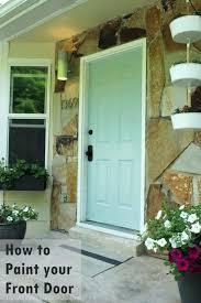 Exterior Door Paint Ideas Painted Wooden Exterior Doors Paint Grade Alternatux