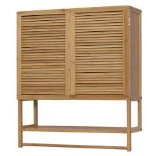 Bamboo Wall Cabinet Bathroom Bathroom Wall Cabinets Wall Storage Storage U2013 Adley U0026 Company Inc