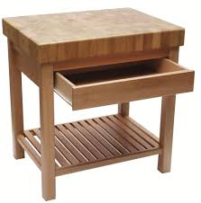 table cuisine tiroir table billot cuisine willowtemp info