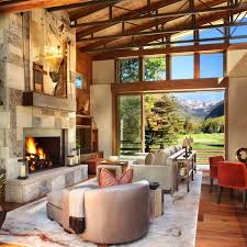 captivating modern rustic home in the colorado mountains mountain modern home suman architects 03 1 kindesign