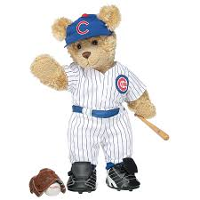 build a teddy curly teddy in chicago cubs build a workshop us