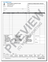 House Cleaning Estimate Form by Carpet Cleaning Invoices Janitorial Proposals Residential