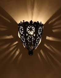 Moroccan Wall Sconce Moroccan Iron Wall Sconce Light 灯具 Pinterest Iron Wall