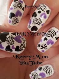 50 best zebra nail art tutorial u0026 video gallery by nded images on