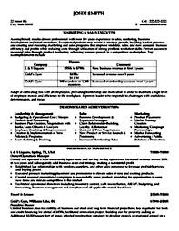 sales executive resume sample pdf free samples examples
