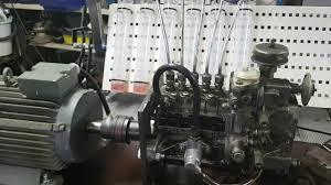 homemade diesel pump test bench youtube