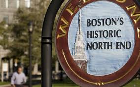 North End Boston Map by Battery Wharf Boston Waterfront