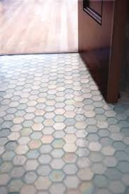 White Bathroom Floor Tile Ideas Oceanside Glass Tile We Love The Honeycomb Tile Such A Unique