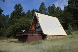 cabin for sale at the base of the brazos cliffs near chama log