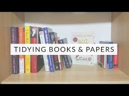 kondo organizing tidying with konmari books papers marie kondo the life