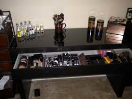 Black Vanity Table Ikea Inspiring Ikea Makeup Vanity Dressing Table Together With Black
