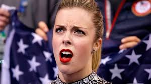 Unimpressed Meme - olympics 2014 ashley wagner and her unimpressed face is now a meme