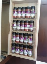 spice storage for cabinets rack small shelves pantry wire best