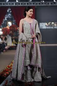 wedding dress in pakistan blue crinkle chiffon wedding dress