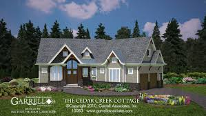 craftsman style house cedar creek cottage house plan house plans by garrell associates