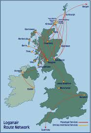 Iberia Route Map by Loganair World Airline News