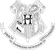 hogwarts crest coloring page fablesfromthefriends com