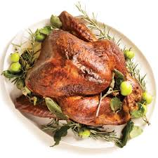 roasted turkey u0026 rosemary garlic butter rub u0026 pan gravy recipe
