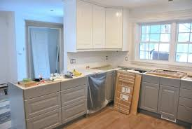 Design A Kitchen Ikea A Gray And White Ikea Kitchen Transformation The Sweetest Digs