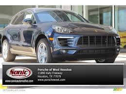 porsche macan 2016 interior 2016 dark blue metallic porsche macan s 105575437 photo 22