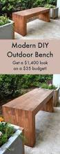 13 awesome outdoor bench projects bench plants and pallets