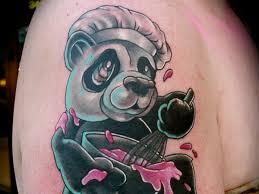 baking tattoos baking panda bear 25 striking bear tattoos ink