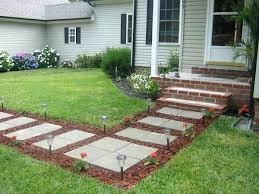 Garden Path Ideas Backyard Sidewalk Ideas Ingenious And Beautiful Garden Path Ideas