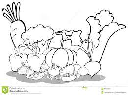 black and white vegetables