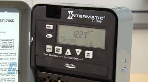 intermatic et1700 series time switch timing relay youtube