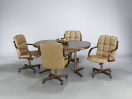 furniture stunning ideas of kitchen chairs with wheels to perfect