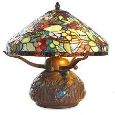 hsn tiffany style lighting dale tiffany dragonfly tiffany style table l 8597769 hsn