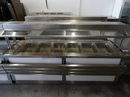 steam table with sneeze guard pci auctions restaurant equipment auctions commercial auctions