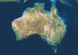 australia satellite map australia satellite digital map by planet observer from maps
