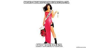World Peace Meme - harsher punishment for parole violators stan and world peace