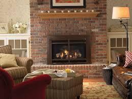 brick fireplace remodel binhminh decoration