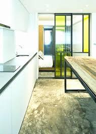 meuble cuisine porte coulissante porte coulissante pour cuisine porte de cuisine coulissante simple