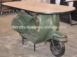 Industrial Bar Table Industrial Reclaimed Scooter Bar Table Buy One Of