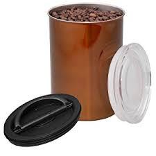 stainless steel kitchen canisters amazon com airscape coffee and food storage canister 64 oz