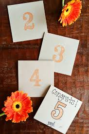 Wedding Table Cards Enjoy It By Elise Blaha Cripe Wedding Table Number Cards