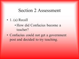 section 2 confucius and his teachings ppt